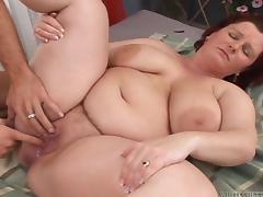 chubby ass gets a fill up @ big fat cream pie #06