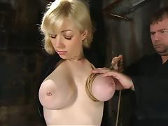 Bound, BDSM, Blonde, Bondage, Bound, Toys