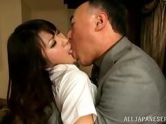 Asian Old and Young, Asian, Banging, Blowjob, Couple, Doggystyle
