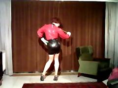 latex rubber gummi nutte floozy self-assertive heels anal shemale milf