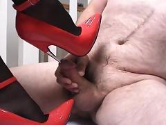 Boots, Boots, Femdom, Heels, Penis, Shoes