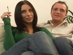 Blowjob, Blowjob, Brunette, Cumshot, Penis, Riding