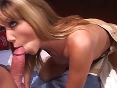 Hot blonde babe assfucked steadfast