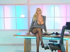Office, British, Office, Stockings