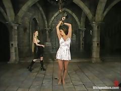 Bondage, BDSM, Bondage, Brunette, Drilled, Femdom