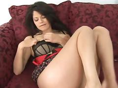 Stunning brunette wants it so hard and so deep