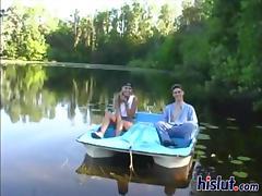 Hot sluts want cock on the lake shore