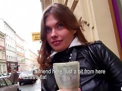 Wonderful Irina Goes Hardcore Outdoors In Public For Money