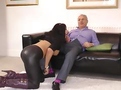 European mature babe Carly G enjoys masturbation