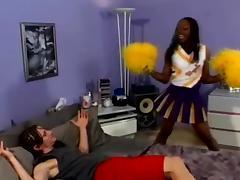 Cheerleader, Black, Cheerleader, Costume, Couple, Ebony