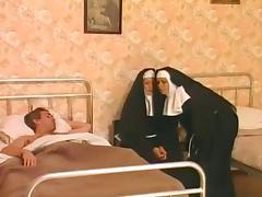 Threesome, Group, Nun, Orgy, Penis, Threesome