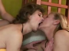 Mature swinger party part 1