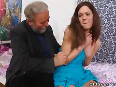 Bedroom, Bedroom, Old Man, Slut