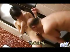 Asian Old and Young, 18 19 Teens, Asian, Boobs, Brunette, Couple