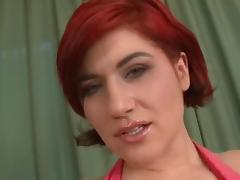 Lucy Bell double anal group-sex