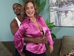 Tasty Rebecca Bardoux has Interracial Sex In A Reality Video