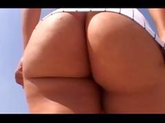 Phat ass Latina creams on a BBC