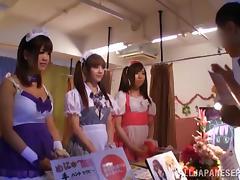 Tokyo, Asian, Blowjob, Costume, Erotic, Facial