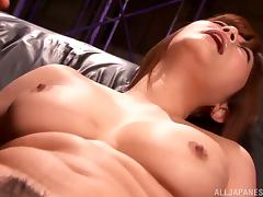 Three cuties Risa-Kasumi,Yuna-Shiina and Haruki Satou in group sex