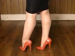 Amateur, Amateur, Boots, Heels, Legs, Nylon