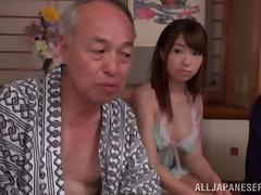 Asian Old and Young, Amateur, Asian, Blowjob, Cowgirl, Doggystyle