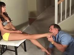 Asian Old and Young, 18 19 Teens, Asian, BDSM, Feet, Femdom