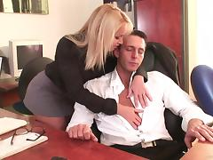 Office, Anal, Blowjob, Boss, Close Up, Couple
