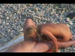 Undressed Beach - Sexy Golden-Haired Ride