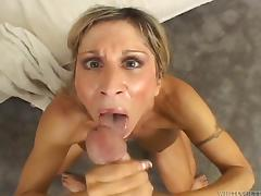 Astounding Morgan Ray Serves A Yummy Fellatio And Gets Fucked