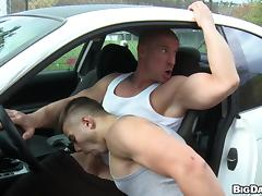 Gorgeous Gay Couple Getting It Hardcore In The Car