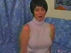 Strip, Amateur, Big Tits, Boobs, Brunette, Mature