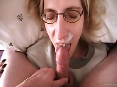 Divas With Long Hair Getting A Nasty Facial Cumshot