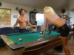 Nikki Is Getting Fucked On A Billiard Table