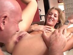 Senior cock for greedy Emily Kae