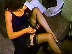 Historic Porn, Nylon, Softcore, Stockings, Strip, Undressing