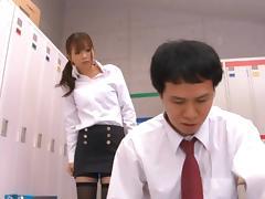 Saki Ninomiya Hot Japanese teacher has raunchy sex